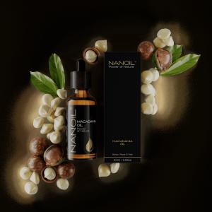 Nanoil Macadamiaöl in der Körper- und Haarpflege